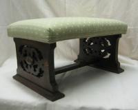 Edwardian Oak Foot Stool
