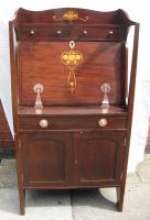 Art Nouveau/Arts & Crafts Bureau Bookcase