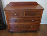 Mahogany chest of drawers C1920