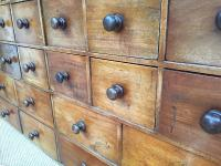 Apothecary 20 Drawer Cabinet 19th Century