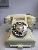 Cream Bakelite Converted Telephone C1950