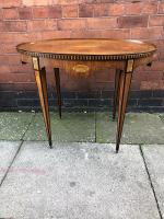 Dutch Inlaid Side Table C1810