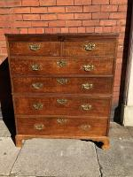 Georgian Large Chest Of Drawers