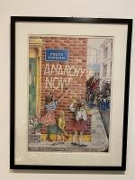 Anarchy Now Print by Clifford Harper