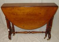 Yew wood Sutherland table
