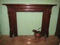 Victorian Walunut Fire Surround