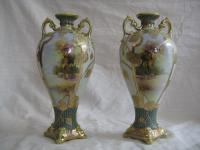Pair of Noritake vases